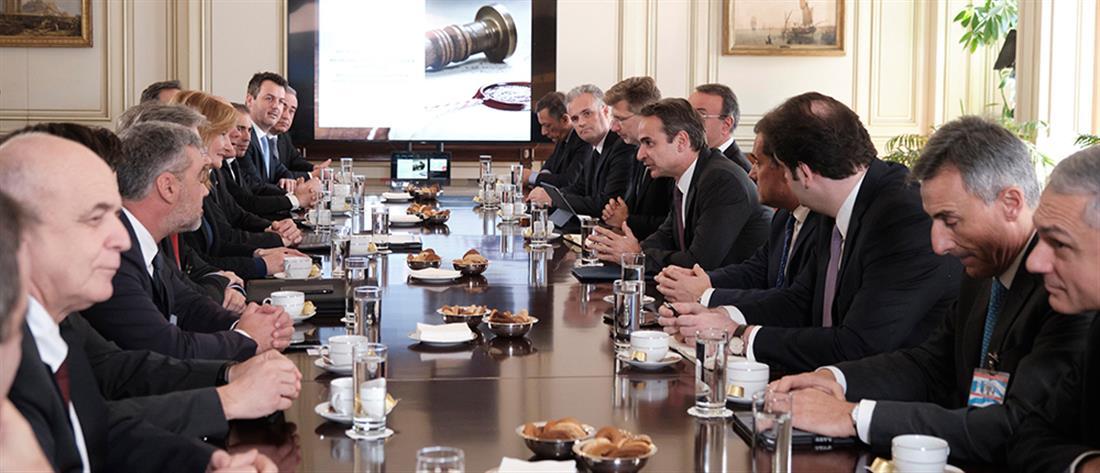 Μητσοτάκης: η κυβέρνηση στηρίζει έμπρακτα την επιχειρηματικότητα