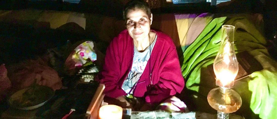 Μαργαρίτα Θεοδωράκη: χωρίς ρεύμα και φαγητό, θα δέσω θηλιά στο λαιμό μου