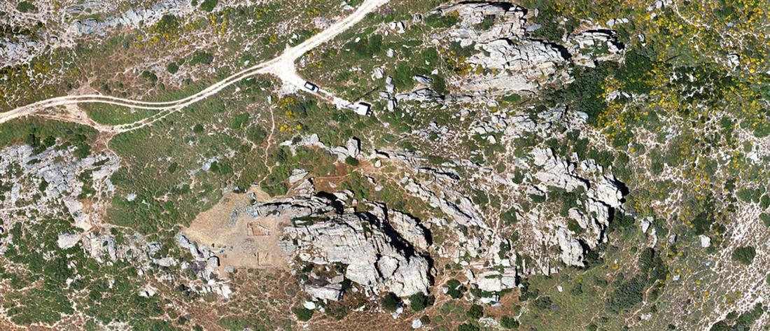 Ανακαλύφθηκε προϊστορικός οικισμός στην Κάρυστο (εικόνες)