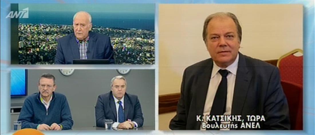 Κατσίκης στον ΑΝΤ1: οι ΑΝΕΛ φεύγουν από την Κυβέρνηση (βίντεο)