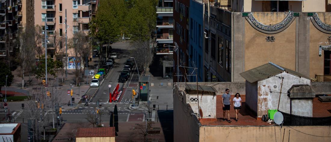 Κορονοϊός: Επιβράδυνση του ρυθμού θανάτων στην Ισπανία