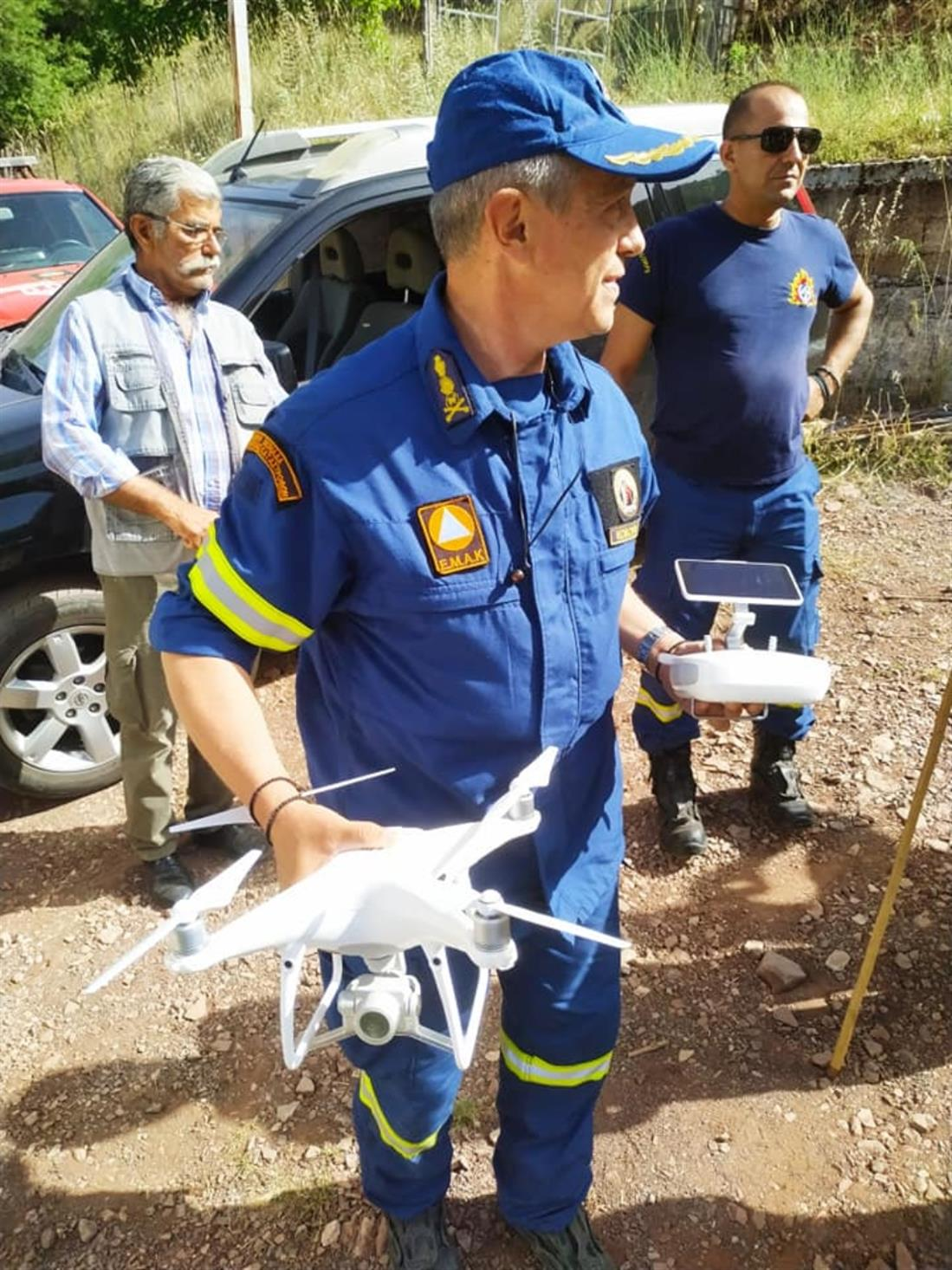 Τρίκαλα - αγνοούμενος - drone