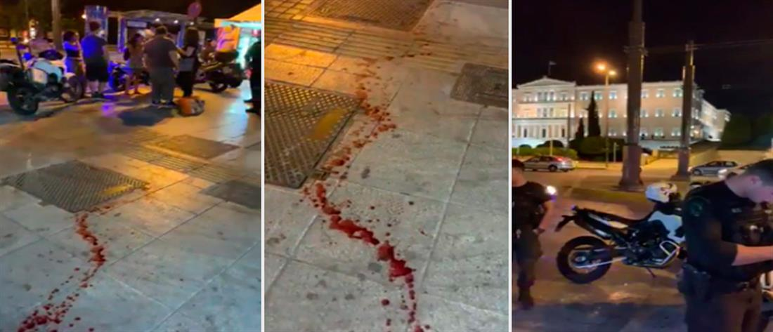 Αιματηρή απόπειρα ληστείας στο Σύνταγμα (εικόνες)