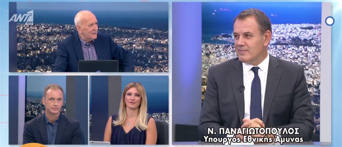 Παναγιωτόπουλος στον ΑΝΤ1 για το προσφυγικό: Θέμα εθνικής ασφάλειας (βίντεο)