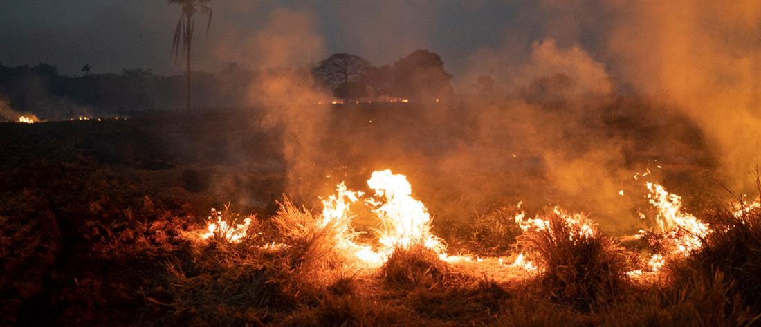 Στις φλόγες ξανά ο Αμαζόνιος – Ρεκόρ πυρκαγιών στο Παντανάλ