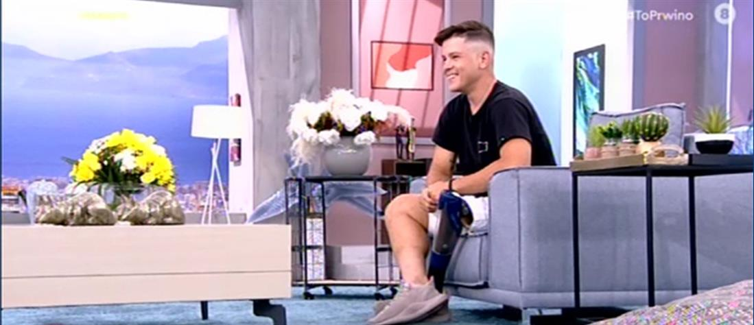 """Νίκος Παπαγγελής: ο Παραολυμπιονίκης που δίνει """"μάθημα ζωής"""" (βίντεο)"""