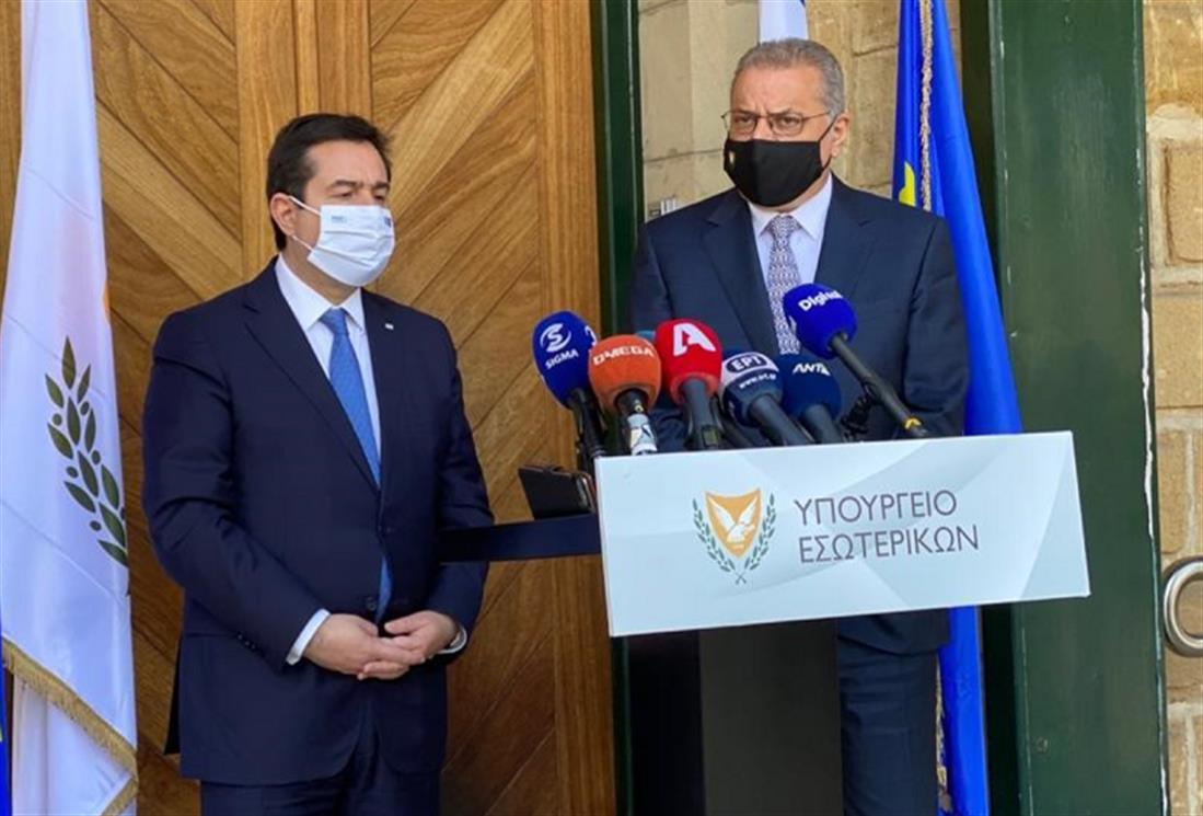 Μηταράκης - Κύπρος