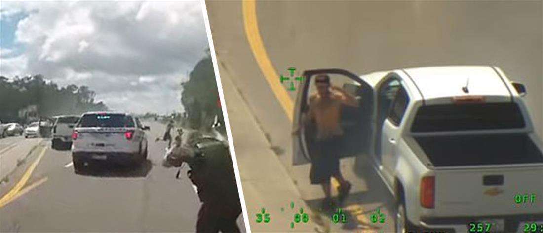 Η σφαίρα πέρασε από το καπέλο του! (βίντεο)