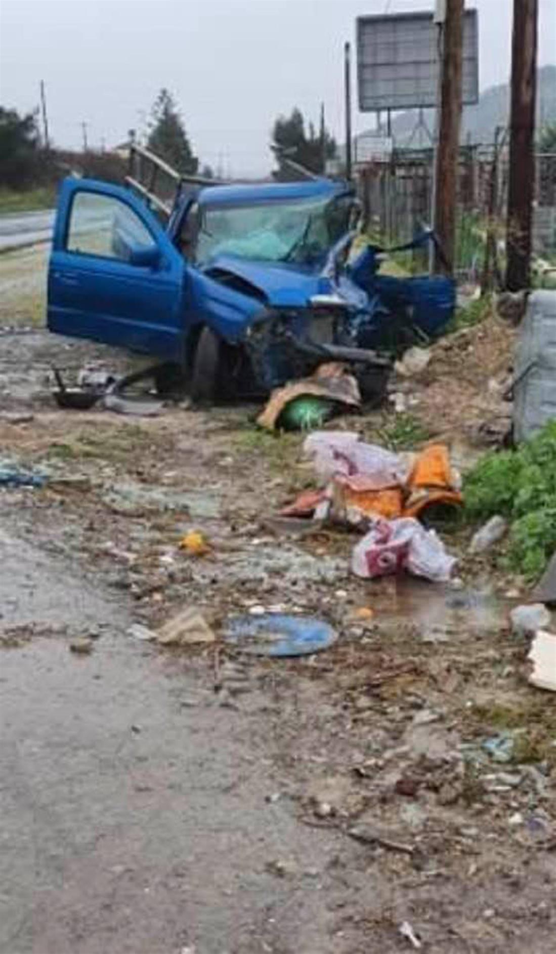 Εθνική Οδός - Κρήτη - τροχαίο δυστύχημα - 54χρονος