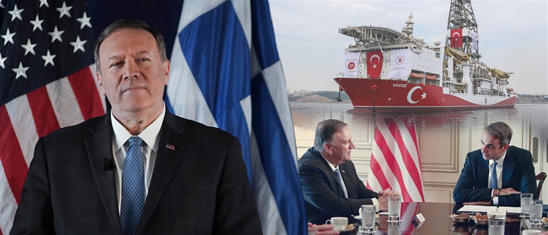 Πομπέo: θα αναλάβουμε δράση εάν τουρκικές δυνάμεις αποβιβαστούν σε ελληνικό νησί