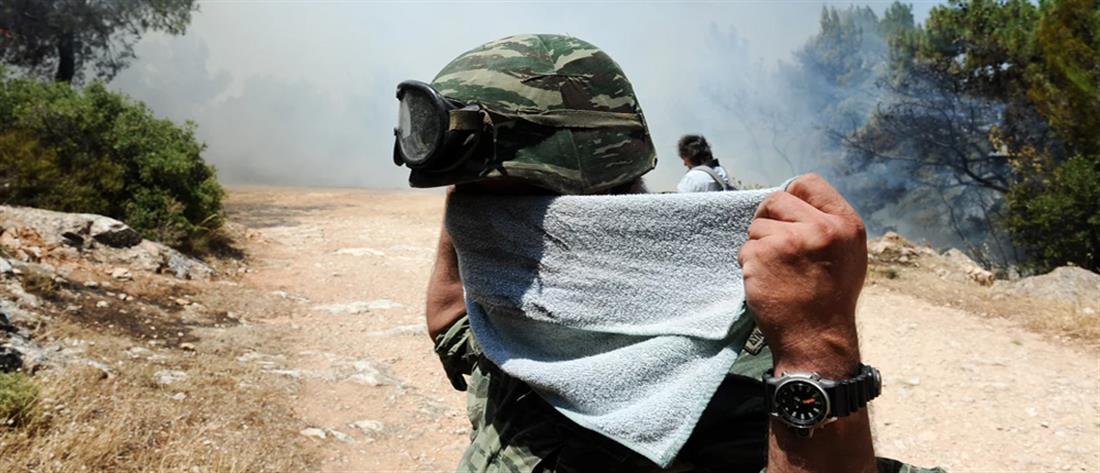 Σύσκεψη στο Μαξίμου για τις φωτιές: Και ο Στρατός στη μάχη