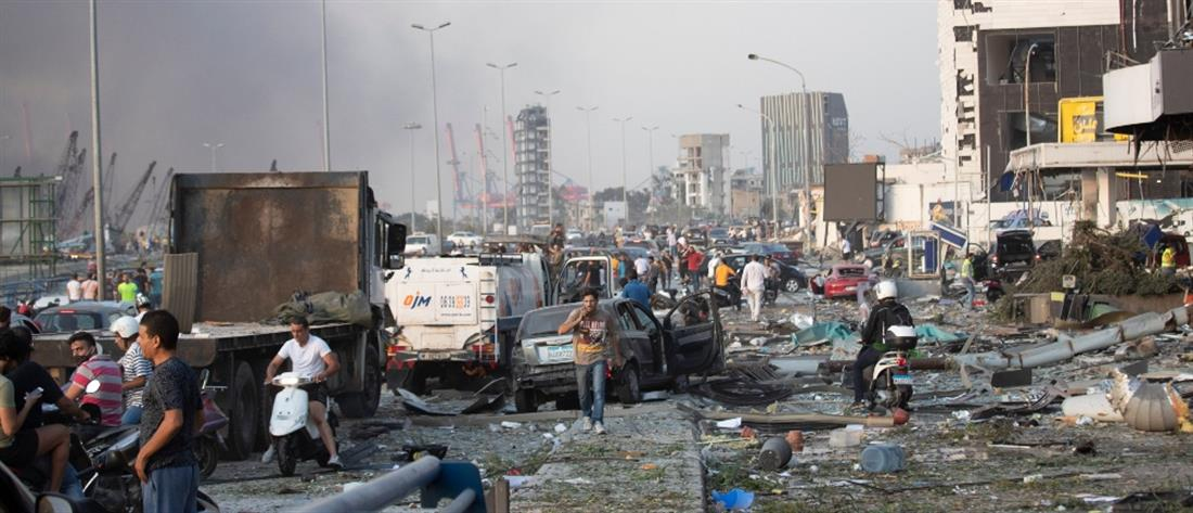 Βηρυτός: Νεκροί και εικόνες βιβλικής καταστροφής (βίντεο)