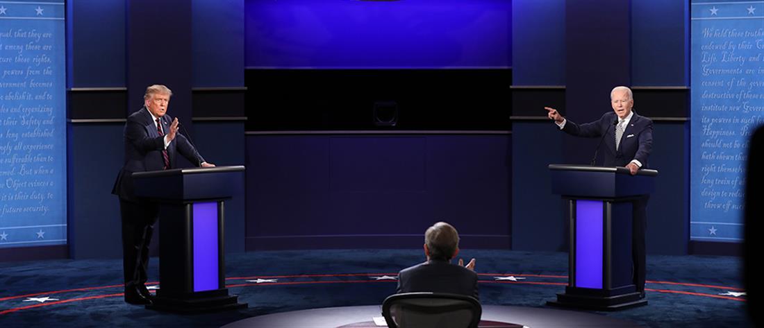 Μπάιντεν: άκυρο το ντιμπέιτ αν έχει κορονοϊό ο Τραμπ