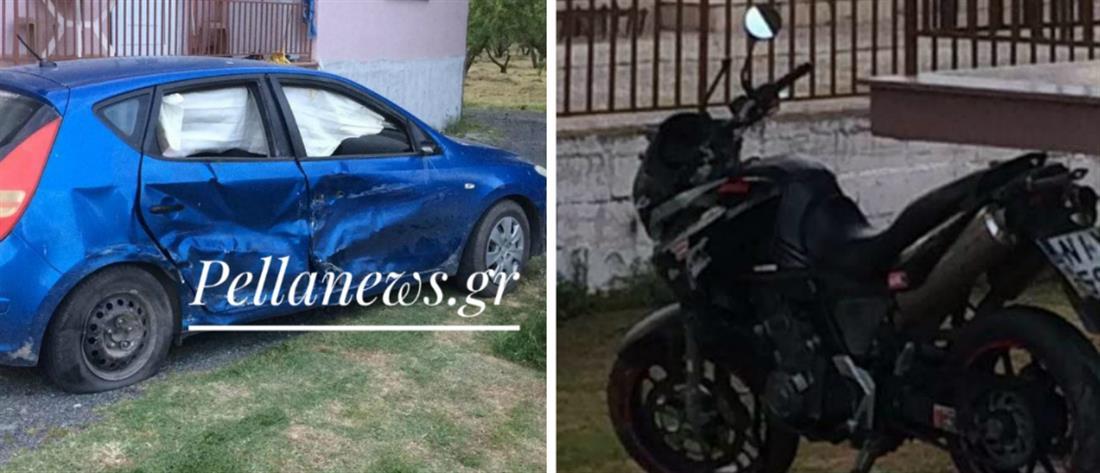 Νεκρός μοτοσικλετιστής σε τροχαίο στην Σκύδρα (εικόνες)