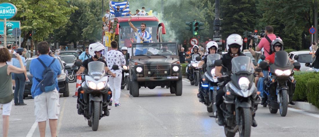 """Στέφανος Ντούσκος: Τα Ιωάννινα """"γκρέμισαν τα τείχη"""" για τον """"χρυσό"""" Ολυμπιονίκη (εικόνες)"""