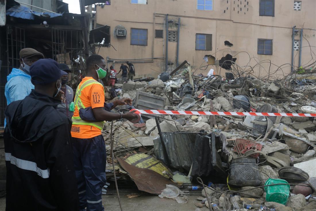 AP - Νιγηρία - κατάρρευση κτηρίου