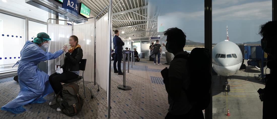 Κορονοϊός: ανακούφιση από τα τεστ σε Βρετανούς τουρίστες