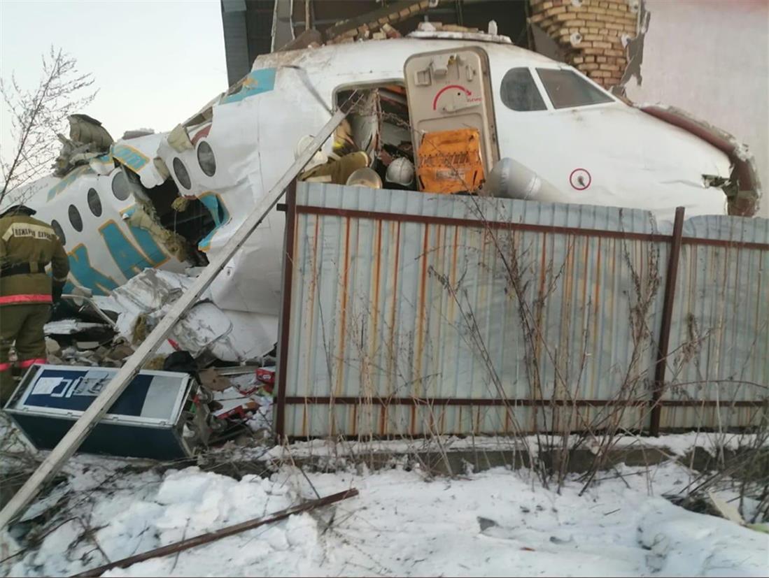 Πτώση αεροπλάνου - Καζακστάν