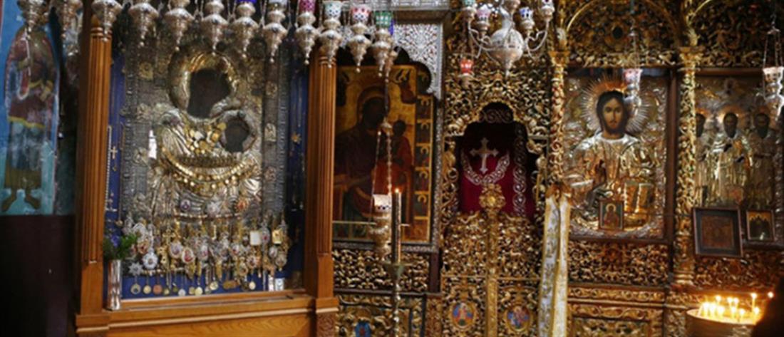 Έκλεψαν τα τάματα από την Παναγία Πορταΐτισσα στο Άγιο Όρος