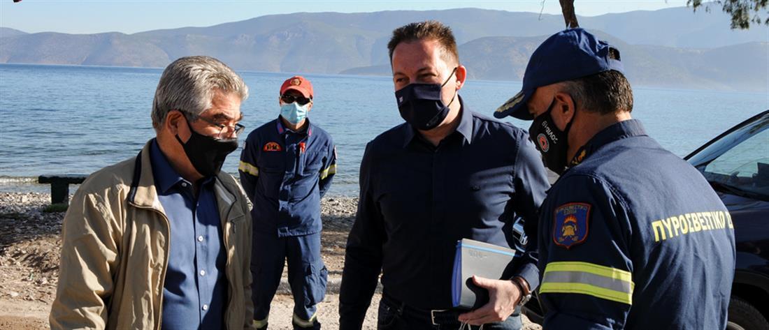 Φωτιά στα Γεράνεια Όρη - Πέτσας: 600 ευρώ για τις πρώτες ανάγκες και έως 6000 για οικοσυσκευές