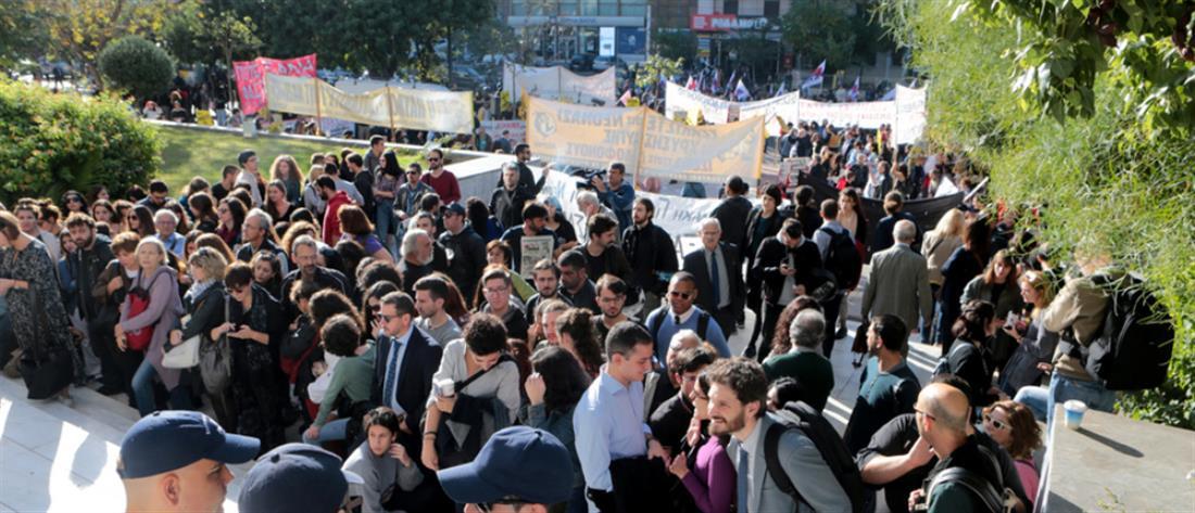 Απολογία Μιχαλολιάκου: Συγκεντρώσεις έξω από το Εφετείο (εικόνες)