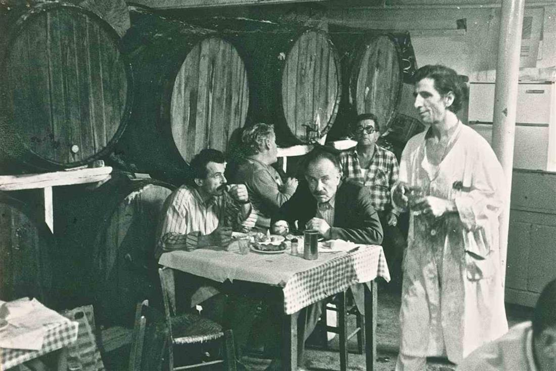 """Η ταβέρνα του μπάρμπα Λιά ή """"Συβρισάρι"""" στην Καισαριανή"""