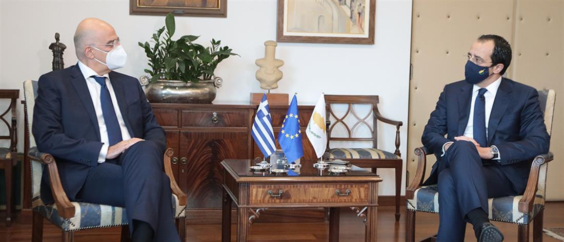 Δένδιας - Χριστοδουλίδης - Κύπρος