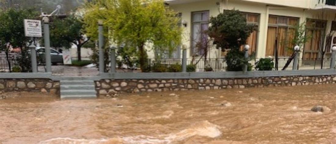 Κακοκαιρία: Κατάσταση εκτάκτου ανάγκης σε περιοχές της χώρας (βίντεο)