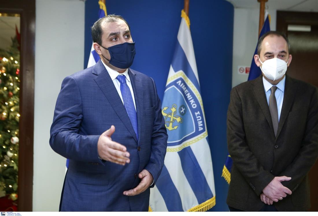 Πλακιωτάκης - Κατσαφάδος - Υπουργείο Ναυτιλίας