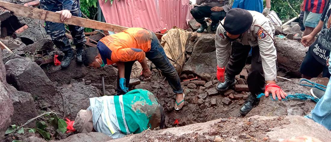 """Κυκλώνας """"Σερότζα"""": εκατόμβη νεκρών σε Ινδονησία και Ανατολικό Τιμόρ (εικόνες)"""