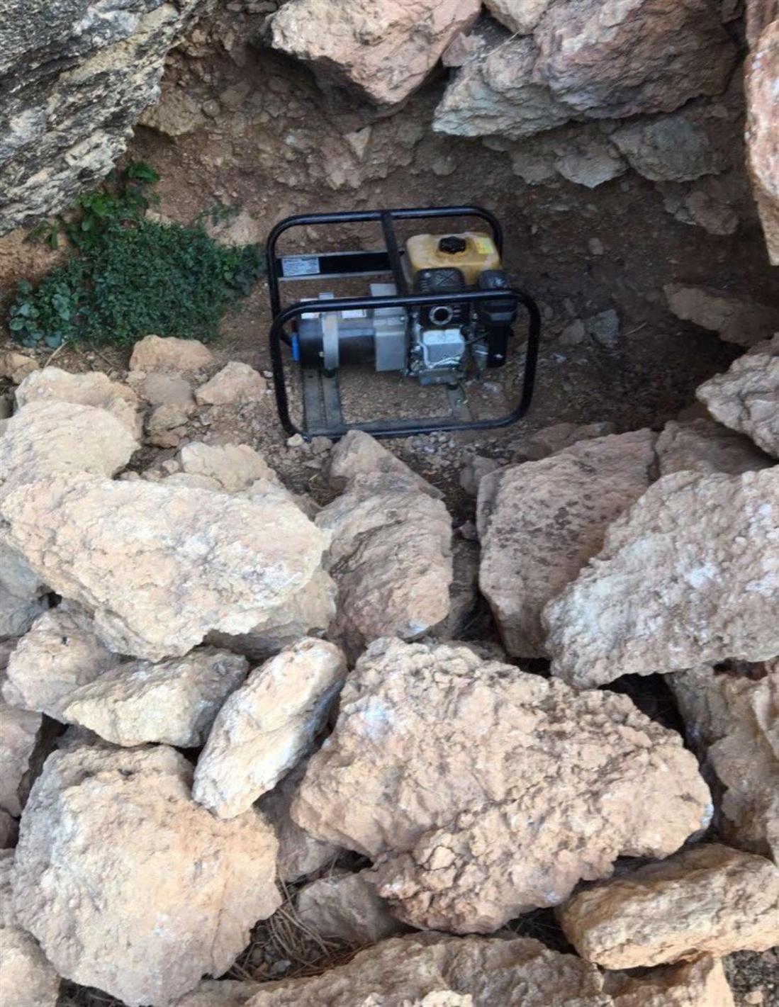 λαθρανασκαφές - Τρίπολη