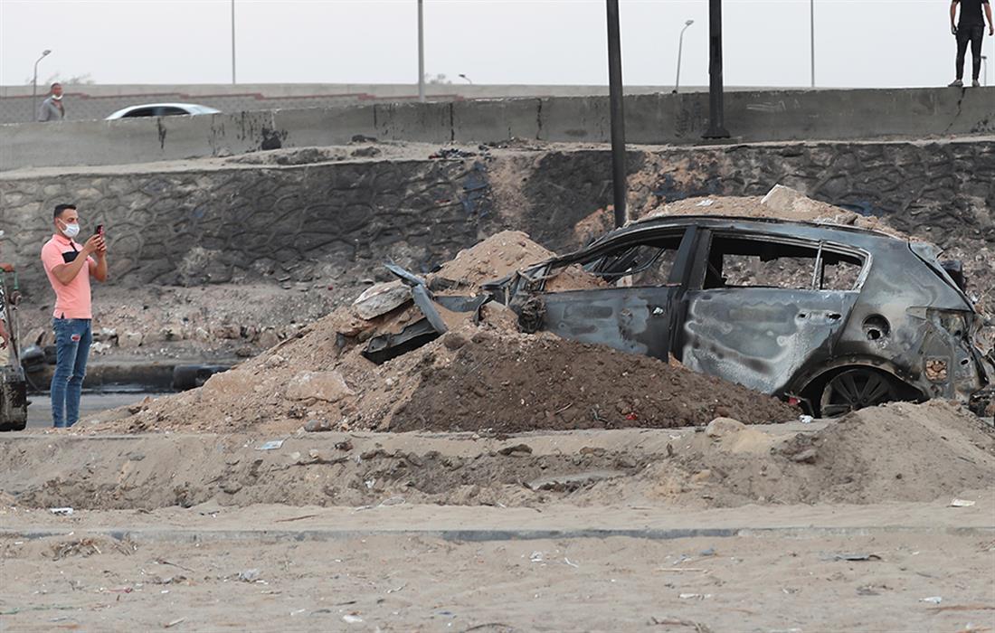Έκρηξη αγωγού φυσικού αερίου - Αίγυπτος