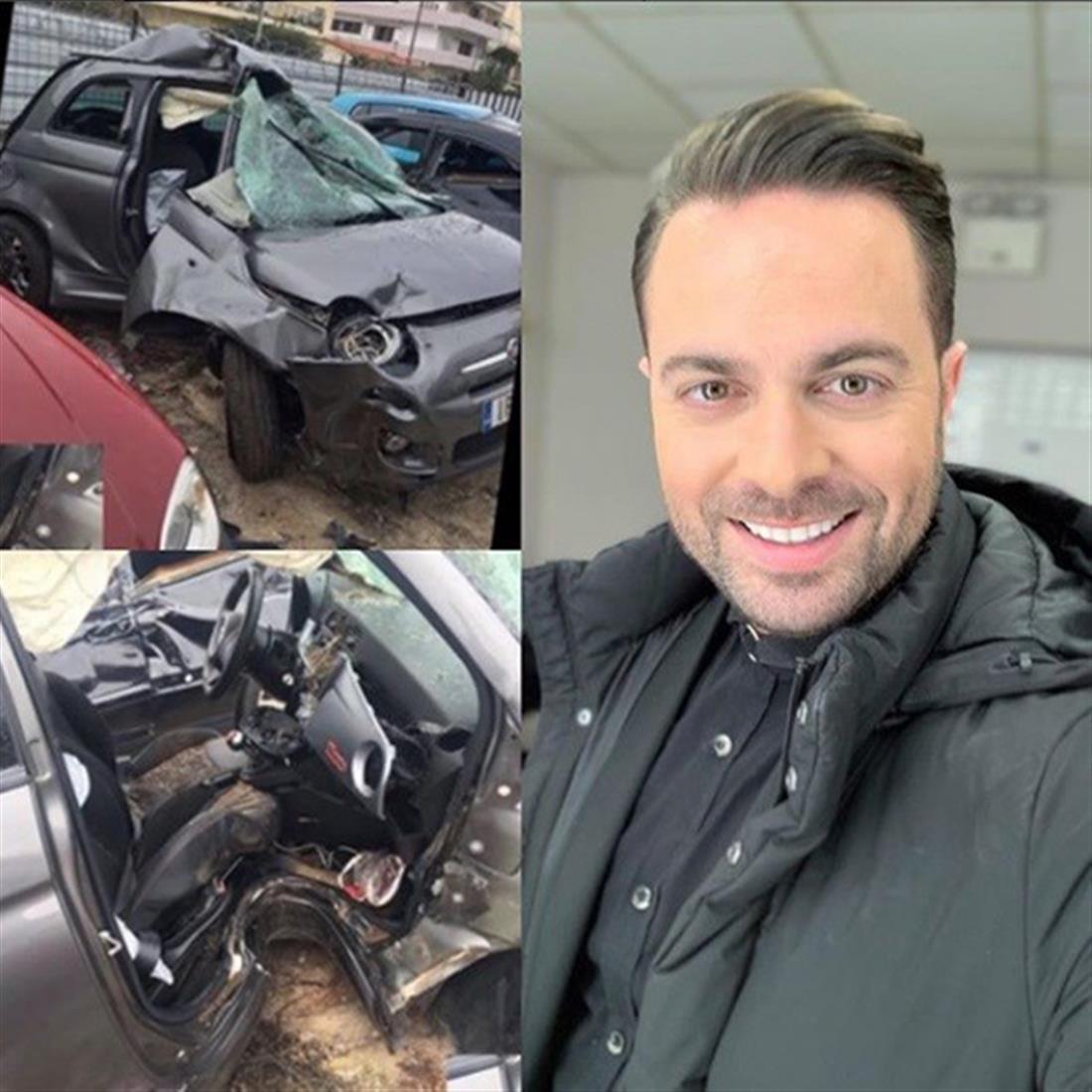 Ηλίας Βρεττός - ατύχημα - μήνυμα