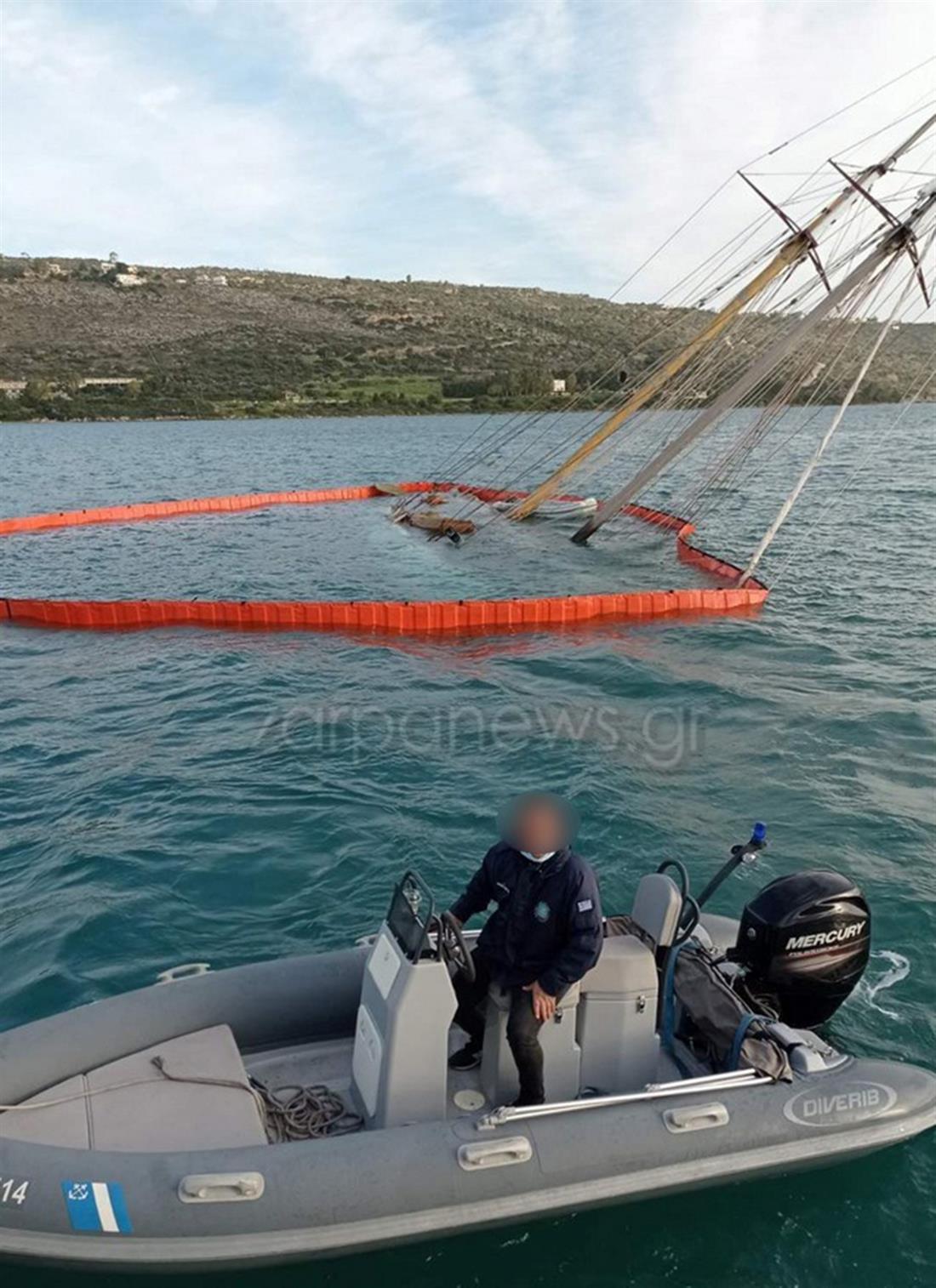 Χανιά - βατραχάνθρωποι - βυθισμένο σκάφος - νεκρός Βρετανός