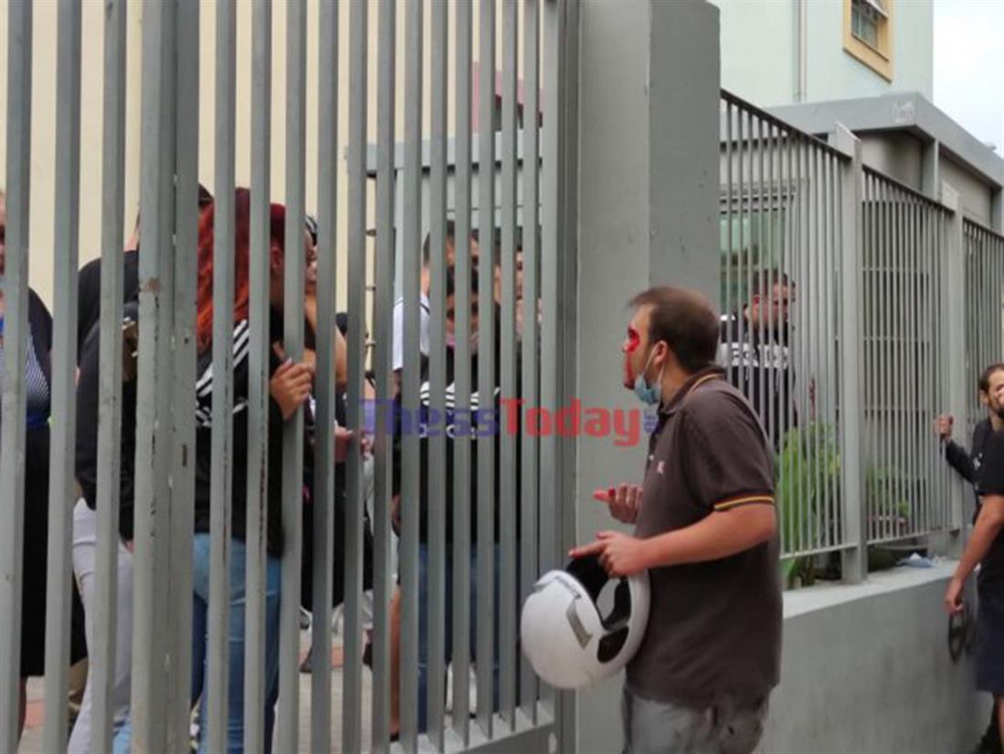 Επίθεση - κουκουλοφόροι - μαθητές - Σταυρούπολη - Θεσσαλονίκη
