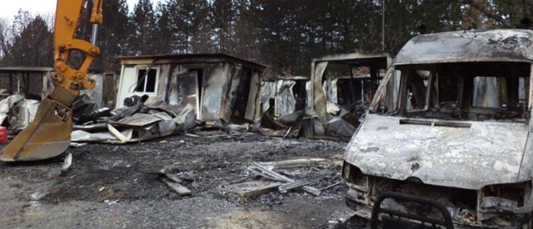 Εμπρηστική επίθεση στις Σκουριές: ενοχή για 5 ζητεί ο εισαγγελέας