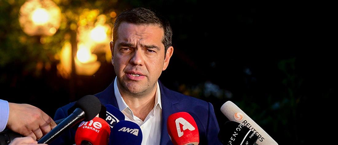 """""""Παράθυρο"""" κυρώσεων προς την Τουρκία από τον Τσίπρα"""