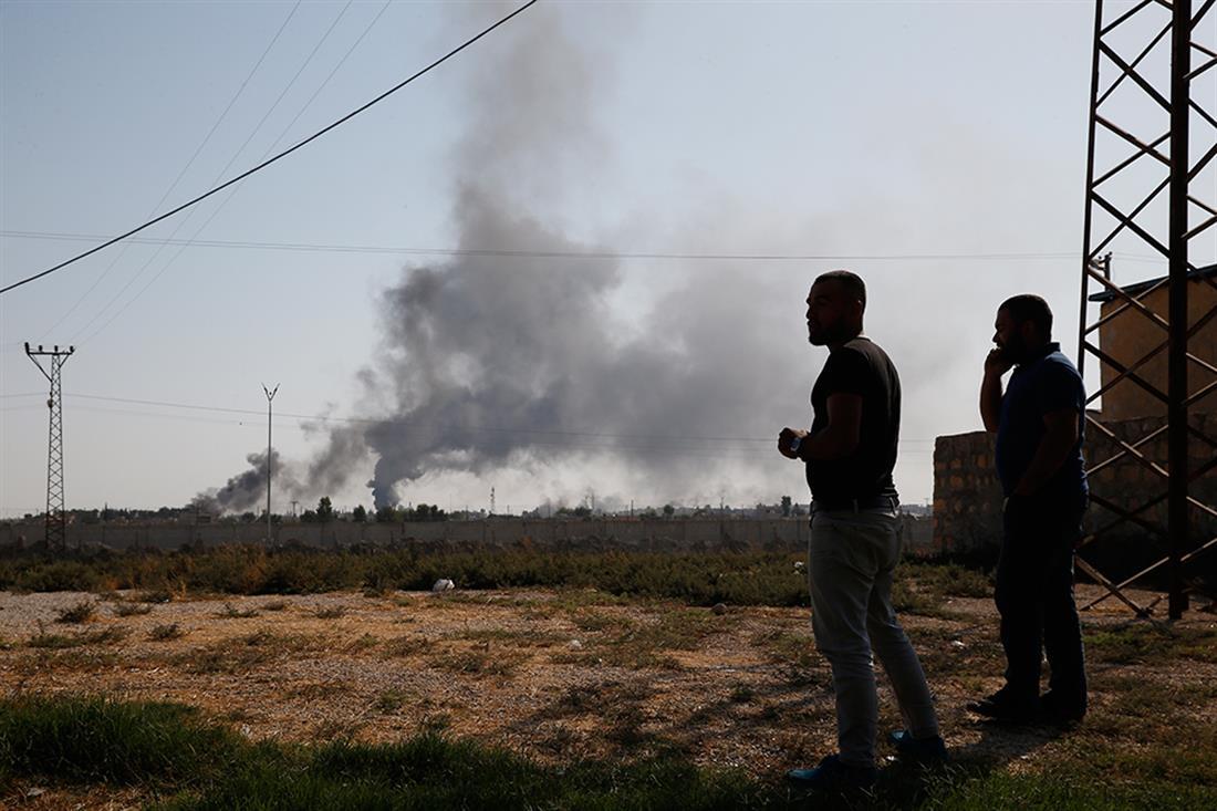 AP - Συρία - βομβαρδισμοί