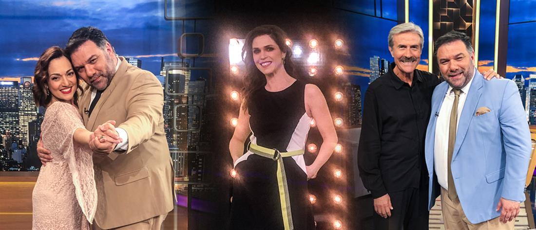 """The 2Night Show"": Ο Γρηγόρης Αρναούτογλου συναντά τρεις εκλεκτούς ηθοποιούς (εικόνες)"