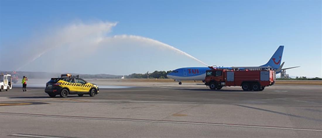 Κως: Η πρώτη διεθνής πτήση σε περιφερειακό αεροδρόμιο