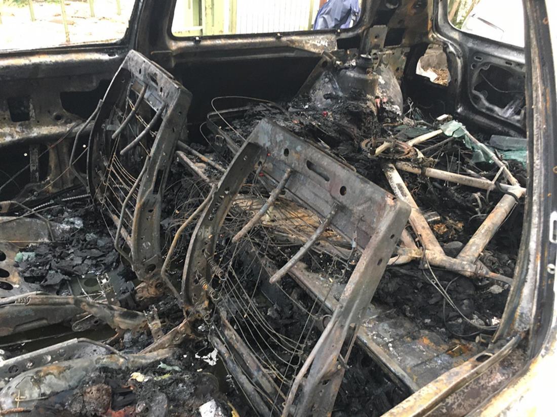 φωτιά - αυτοκίνητο - Λιοσίων