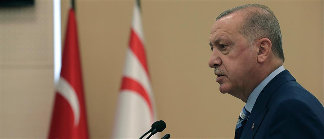 Ερντογάν για Κύπρο: Πλέον δεν υπάρχει Βορράς - Νότος