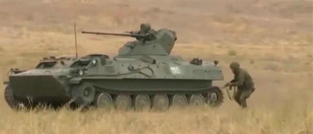Επίδειξη στρατιωτική ισχύος από τη Ρωσία