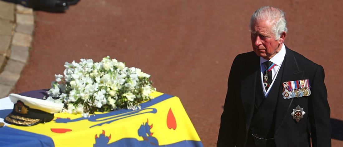 Κηδεία Φιλίππου - Κάρολος