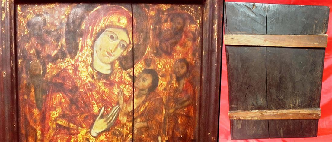 Έβαλε αγγελία για να πουλήσει αρχαία εικόνα της Παναγίας!