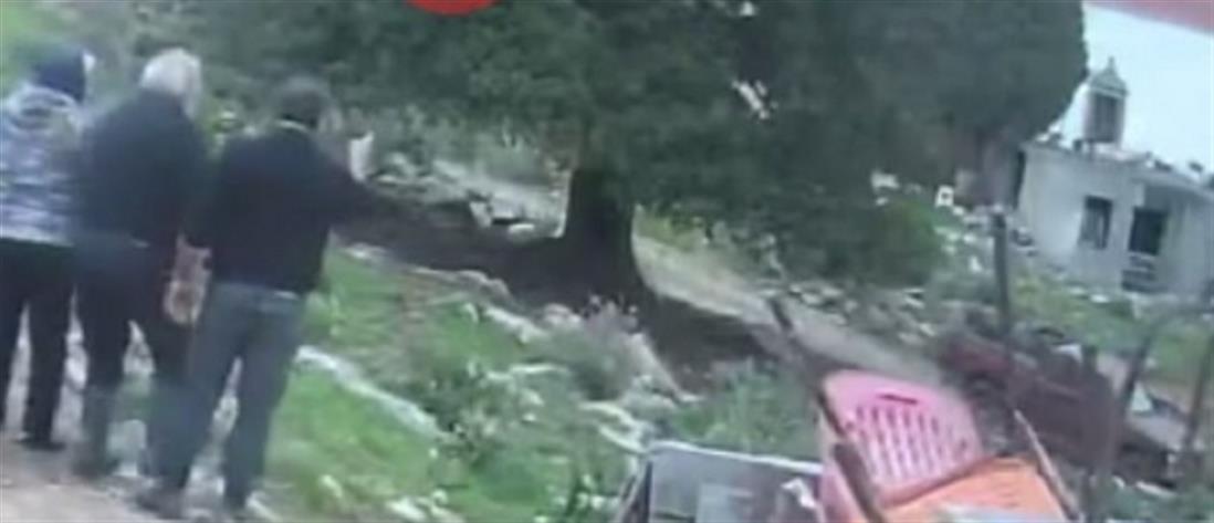 Βίντεο ντοκουμέντο από το φονικό στο Λασίθι