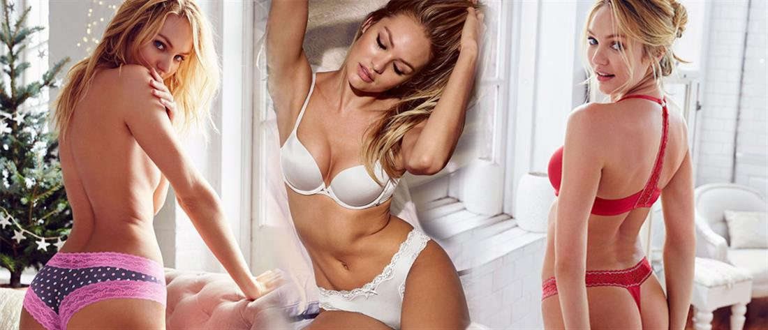 6f63057432c Η Candice Swanepoel με αγγελικά εσώρουχα! | Lifestyle | ANT1 News