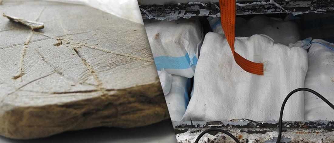 """Στα """"χέρια"""" του ΣΔΟΕ πάνω από 4 τόνοι κατεργασμένης κάνναβης (εικόνες)"""