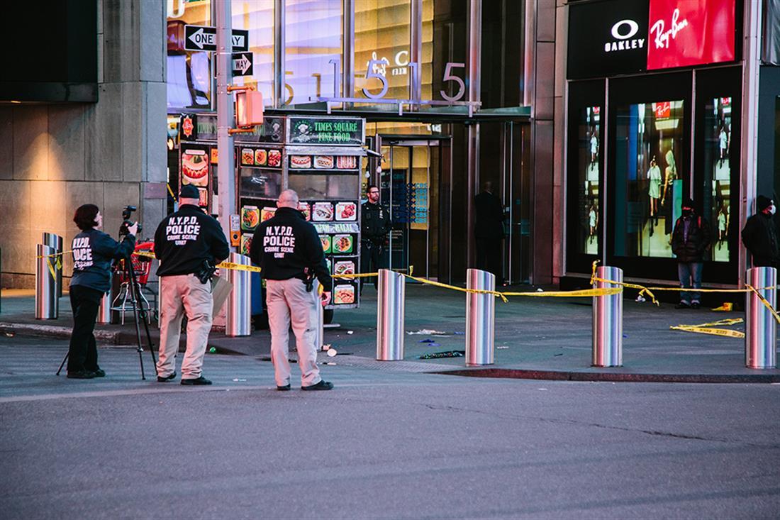 Times Square - Νέα Υόρκη - πυροβολισμοί