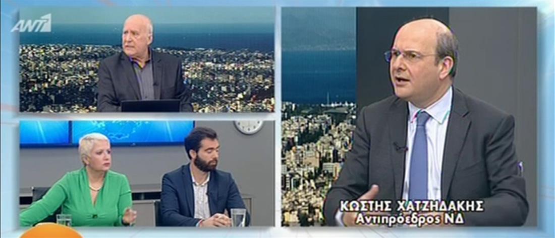 Χατζηδάκης στον ΑΝΤ1: πρώτη κίνηση της ΝΔ η μείωση της φορολογίας (βίντεο)